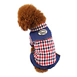 Dog Coat Red / Coffee Winter Fashion