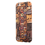 Vintage Wood Grain~5 PC With Painting Back Case For Iphone6,6S