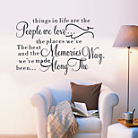 Proverbs English Poetry Wall Sticker