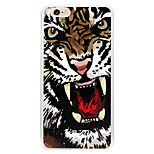 pfeife Tiger Kunststoff zurück Fall Deckung für iphone6 / 6s