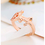 Alloy Ring Couple Rings Daily / Casual 1pc