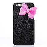 LUXURY Shimmering Powder Bowknot Back Cover Case for iPhone 6(Assorted Colors)