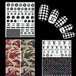 4-Autre décorations-Doigt- enBande dessinée / Fleur / Adorable / Punk / Mariage-6.2*5.2