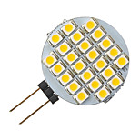 g4 1,5 W 24-LED 3528 weiße runde Form LED-Lampe