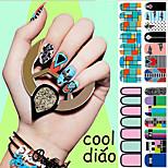 1-Autocollants 3D pour ongles / Autre décorations-Doigt / Autre- enBande dessinée / Abstrait / Adorable / Punk / Mariage-14.5*7.5