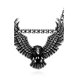 Fashion jewelry pendant necklaces Maya Punk Stainless Steel necklace for men eagle pendant GMYN054