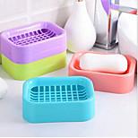 Creative DoubleDraining Soap Holder Non-slip Soap Dish Soap Box