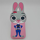 Judy the rabbit Silicone Case For 6/6S