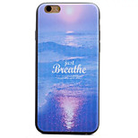 Sea Butterfly Pattern TPU Material Phone Case for iPhone 6 Plus/6S Plus
