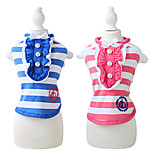 Dog Coat Blue / Rose Summer Fashion