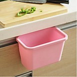 Hanging Kitchen Trash Can,Plastic,Large