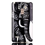 Elephant Pattern TPU Phone Case for LG Stylo LS770