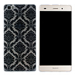 Auspicious Patterns Pattern Mobile Shell Transparent TPU Soft Shell Protective Sleeve for Huawei P8 Lite