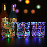 Luminous wine cup / cup, water induction light, heart to heart