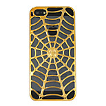 A Spider's Web Skeleton Hard Case for iPhone5/5S