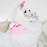 Dog Coat Pink / Gray Summer Fashion