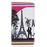 Love Patter PU Leather Full Body Case with Stand for Wiko Lenny2