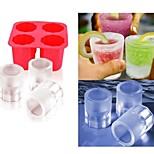 Cup Mold Ice  DIY Pops Mould Popsicle Molds Yogurt Ice Box Fridge Frozen Treats Freezer(Ramdon Color)