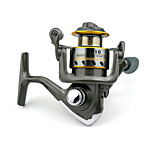 7 BB Spinning Reels Gear Ratio 5.2:1 Metal Spinning Fishing Reel HD10 Random Colors