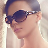 Sunglasses Unisex's Classic / Elegant / Modern / Fashion Oval Black Sunglasses / Sports Full-Rim