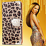 Luxurious Leopard Grain Leather Full Body Case For Samsung Galaxy Note 3/Note 4/Note 5