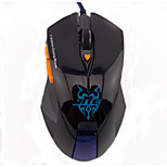Wesing JT-2045 6 Buttons Wired Optical Game Gaming Mouse Black