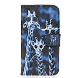 Crazy Deers Patter PU Leather Full Body Case with Stand for Huawei Y5/Y560