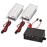 Set Car 22 Led Strobe Emergency Light 3 Flashing Modes