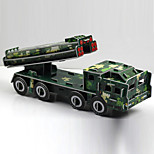 Intercontinental Ballistic Missile 3D Puzzles Paper DIY Toys Modeling Toys