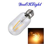1 pezzo YouOKLight E26/E27 4W 1 COB 400 LM Bianco caldo B edison Vintage Lampadine globo LED AC 220-240 V