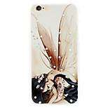buccia di cipolla shell cellulare ragazza diamante rilievi dipinti valgono per iPhone6 plus | 6s più