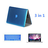 2016 Hot Selling Solid Color Aluminum MacBook Case with Keyboard Cover and Screen Flim for MacBook Retina 13.3 inch