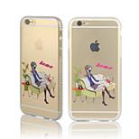 le ragazze della città due serie di diamante della pagina TPU con il caso posteriore per iPhone6 / 6S