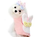 Dog Hoodie Blue / Pink Winter Fashion