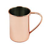 Novelty Drinkware Copper Moscow Mule Mugs The Handle is Welded - No Ugly Rivets