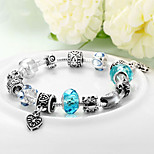 Women Gift Strand Beads Bracelets Beads Glass Beads Charm Bracelets & Bangles 925 Silver European beads PH030