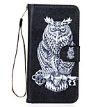 Owl Pattern PU Leather Full Body Case with Stand for Sony Z5
