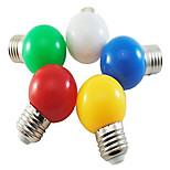 Ampoules Globe LED Décorative Blanc Naturel / Rouge / Bleu / Jaune / Vert HRY 1 pièce A60(A19) E26/E27 1W 5 SMD 2835 350 LM AC 100-240 V