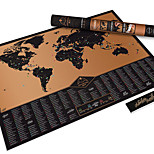 Explore Version Map Scratch Ticket Map Of TheWorld Scratch Map