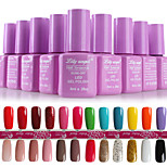 Nail Systems  Soak-off UV & LED Gel Polish (8ml,1-24 Colors)