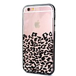 leopard call knipperende TPU + PC-Hoes combo voor iPhone 6 / 6s
