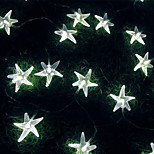 King Ro 50LED Starfish Battery Outdoor Waterproof String Light(KL0025-RGB,White,Warm White)