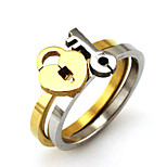 New Product  Titanium Steel Ring Midi Rings Wedding / Party / Daily / Casual 1pc