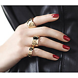 Alloy Ring Band Rings Party / Daily / Casual 3pcs