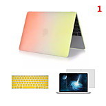Top Selling Rainbow PVC MacBook Case with Keyboard Cover and Screen Flim for  MacBook Retina 13.3 inch