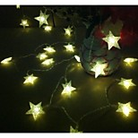 King Ro Star Shape Battery Led String Light Outdoor Waterproof String Light(KL0008-RGB,White,Warm White)