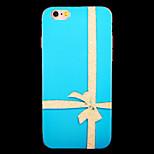 bowknot motif imd tpu imprimé couverture souple pour iphone 6 / 6s (couleurs assorties)