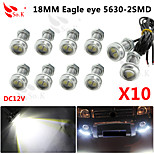10 X 9W LED Eagle Eye Light Car Fog DRL Daytime Reverse Backup Parking Signal