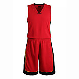 Hauts/Tops / Bas / Shirt ( Rouge / Noir ) - Fitness / Basket-ball - Sans manche - Homme
