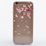 modello di fiore TPU cassa del telefono il caso di iphone 6 / 6S